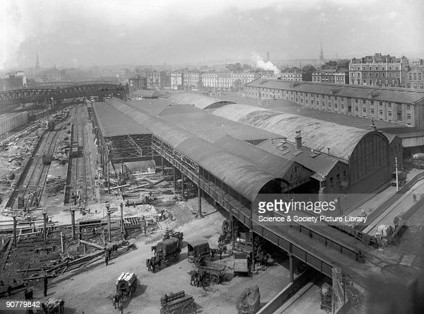 Official Great Western Railway photograph Paddington Station was the London terminus of the Great Western Railway built to connect the capital with...