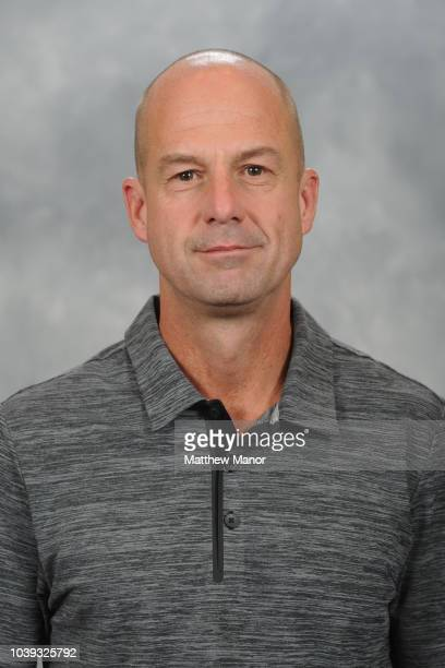 Official Kay Whitmore poses for his official headshot for the 20182019 season on September 11 2018 at the HarborCenter in Buffalo New York United...