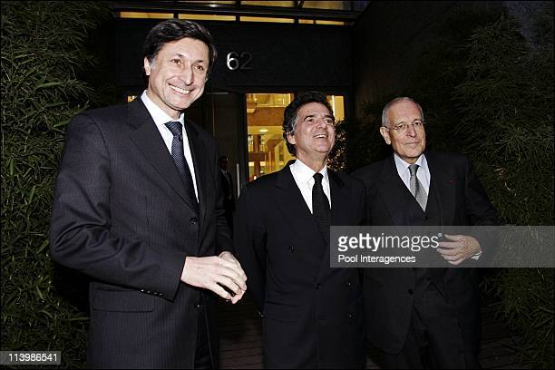 Official Launch of 'France 24' the french international 24h news channel in Paris France On December 06 2006Alain de Pouzilhac president of new...