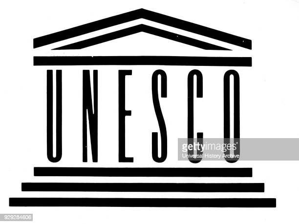 Official logo for UNESCO . Dated 20th Century.