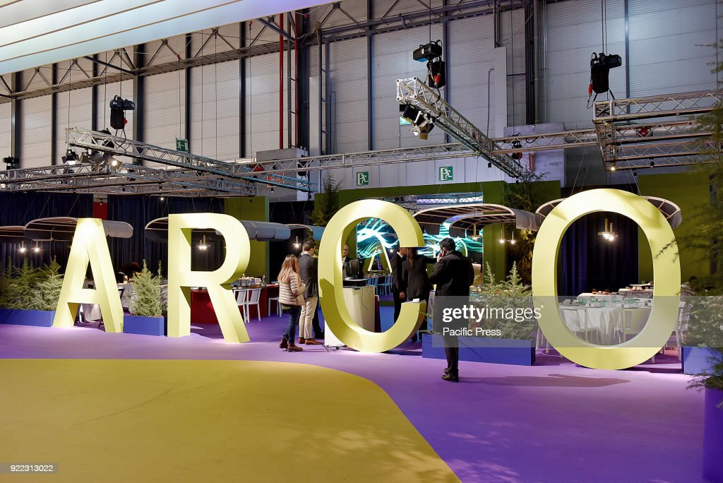 Official opening of the International Fair of Contemporary... : News Photo