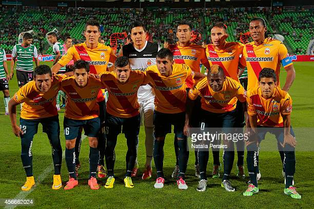 Official photo of Morelia prior a match between Santos Laguna and Morelia as part of 12th round Apertura 2014 Liga MX at Corona Stadium on October 04...