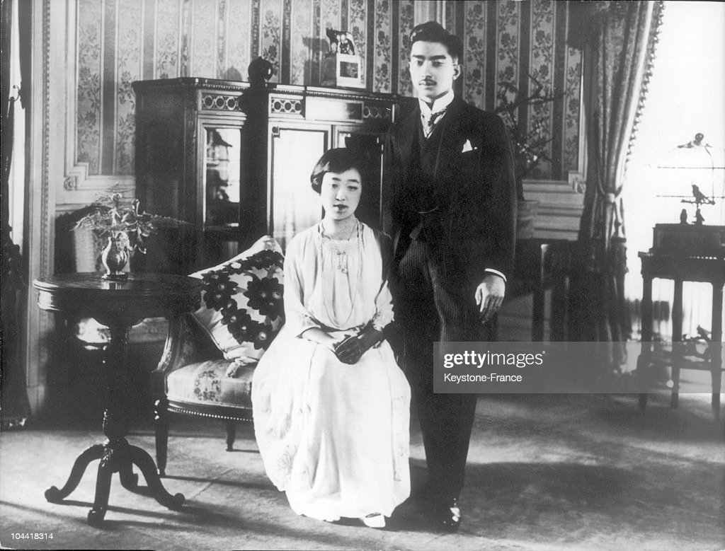 Hirohito And His Wife 1925 : ニュース写真