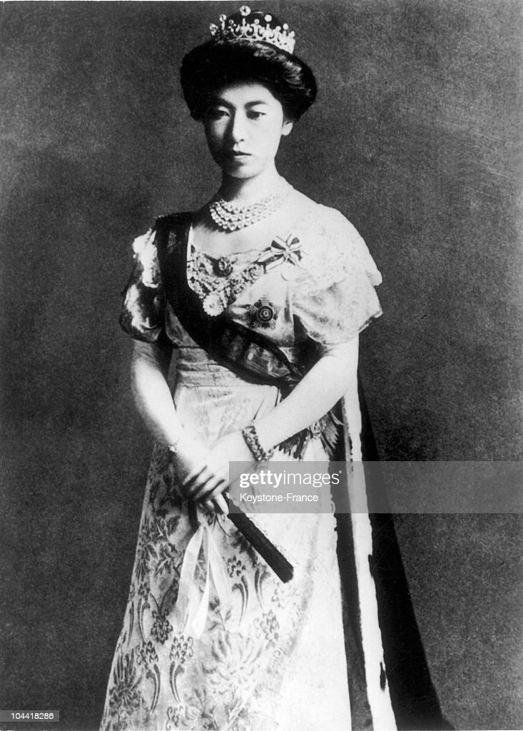 Empress Sadako Of Japan In The 1920'S : News Photo