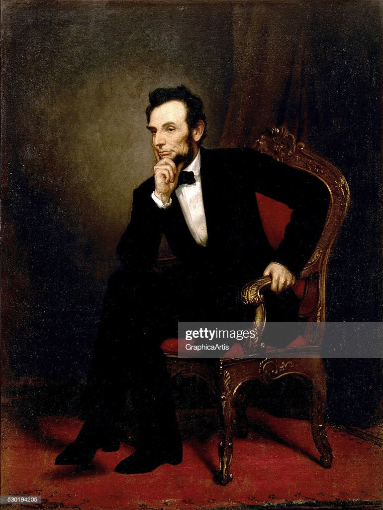 Abraham Lincoln By Healy : News Photo