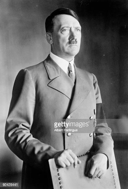 Official portrait of Adolf Hitler German statesman