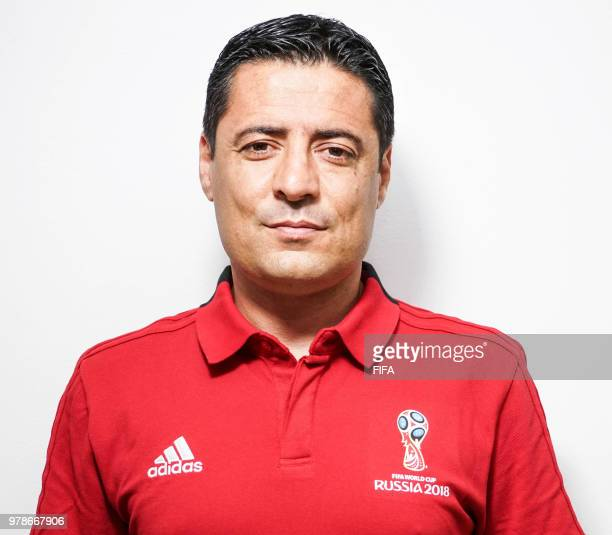 Official Portrait of Alireza Faghani from Iran for the FIFA World Cup Russia 2018 on April 24 2018 in Russia