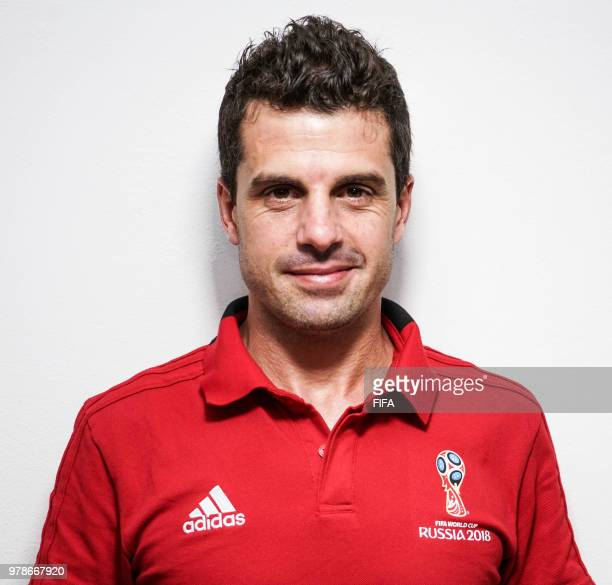 Official Portrait of Andres Cunha from Uruguay for the FIFA World Cup Russia 2018 on April 24 2018 in Russia