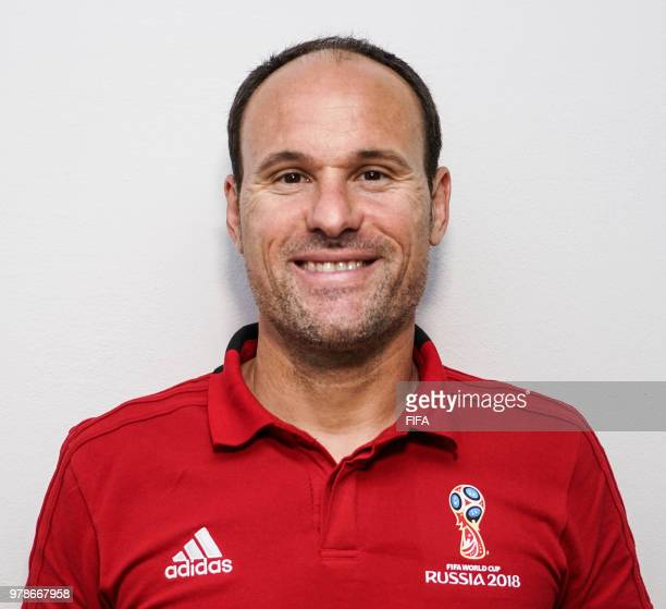 Official Portrait of Antonio Mateu from Spain for the FIFA World Cup Russia 2018 on April 20 2018 in Russia