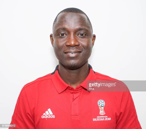 Official Portrait of Bakary Gassama from Gambia for the FIFA World Cup Russia 2018 on April 19 2018 in Russia
