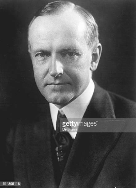Official portrait of Calvin Coolidge thirtieth President