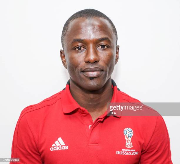 Official Portrait of El Hadji Samba from Senegal for the FIFA World Cup Russia 2018 on April 192018 in Russia