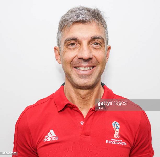 Official Portrait of Elenito Di Liberatore from Italy for the FIFA World Cup Russia 2018 on April 19 2018 in Russia