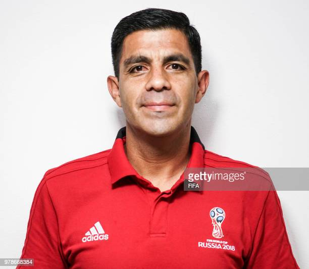 Official Portrait of Enrique Caceres from Paraguay the FIFA World Cup Russia 2018 on April 242018 in Russia