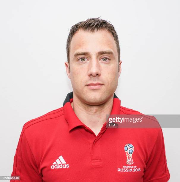 Official Portrait of Felix Zwayer from Germany for the FIFA World Cup Russia 2018 on April 19 2018 in Russia
