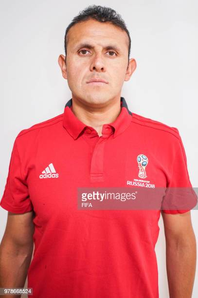 Official Portrait of Gery Vargas from Bolivia for the FIFA World Cup Russia 2018 on April 19 2018 in Russia