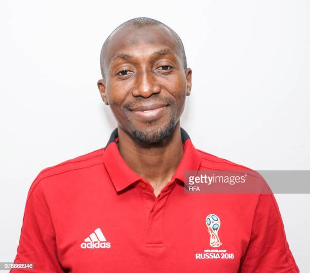 Official Portrait of Malang Diedhiou from Senegal for the FIFA World Cup Russia 2018 on April 19 2018 in Russia
