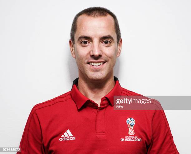 Official Portrait of Mark Geiger from the USA for the FIFA World Cup Russia 2018 on April 24 2018 in Russia