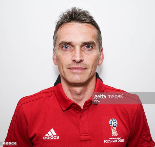 Official Portrait of Massimiliano Irrati from Italy for the FIFA World Cup Russia 2018 on April 19 2018 in Russia