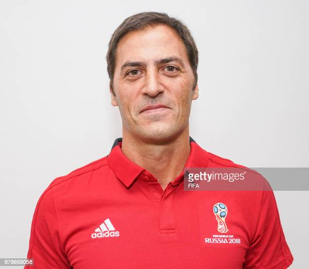 Official Portrait of Mauro Vigliano from Argentina for the FIFA World Cup Russia 2018 on April 19 2018 in Russia