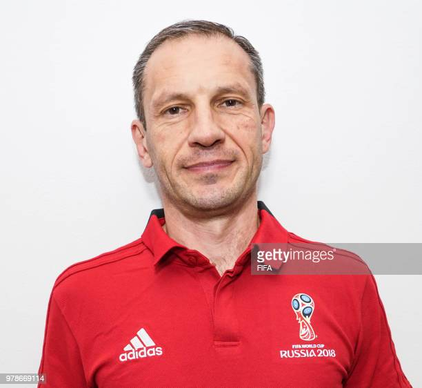 Official Portrait of Milovan Ristic from Serbia for the FIFA World Cup Russia 2018 on April 19 2018 in Russia