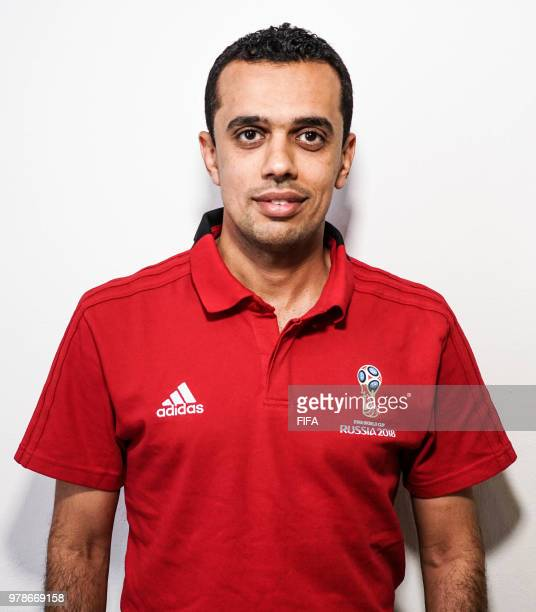 Official Portrait of Mohammed AlAbakry from Saudi Arabia for the FIFA World Cup Russia 2018 on April 24 2018 in Russia