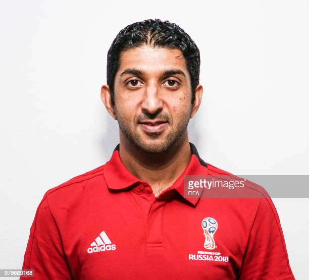 Official Portrait of Mohammed Mohammed from United Arab Emirates for the FIFA World Cup Russia 2018 on April 24 2018 in Russia