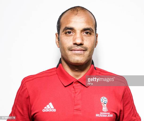 Official Portrait of Nawaf Shukralla from Bahrain for the FIFA World Cup Russia 2018 on April 24 2018 in Russia