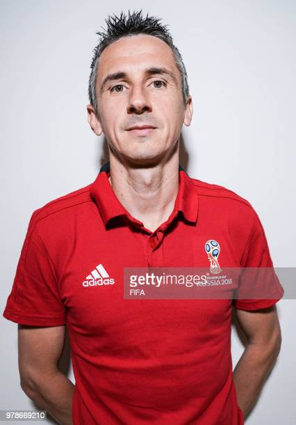 Official Portrait of Nicolas Danos from France for the FIFA World Cup Russia 2018 on April 19 2018 in Russia