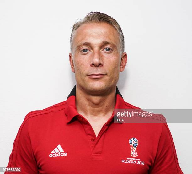 Official Portrait of Paolo Valeri from Italy for the FIFA World Cup Russia 2018 on April 24 2018 in Russia