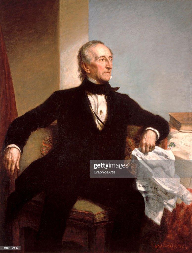 President John Tyler By Healy : News Photo
