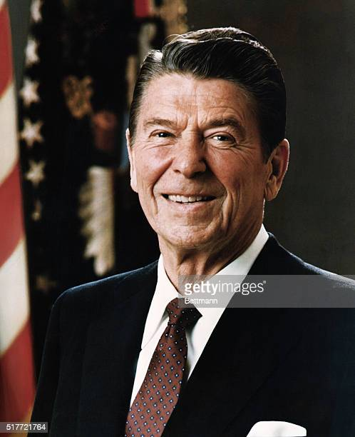 3/1981 Official portrait of President Ronald Reagan