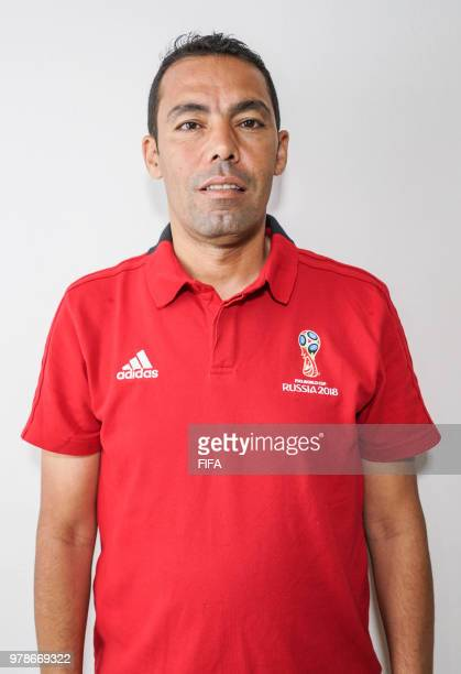 Official Portrait of Redouane Achik from Morocco for the FIFA World Cup Russia 2018 on April 19 2018 in Russia
