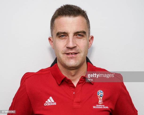 Official Portrait of Roberto Diaz from Spain for the FIFA World Cup Russia 2018 on April 20 2018 in Russia