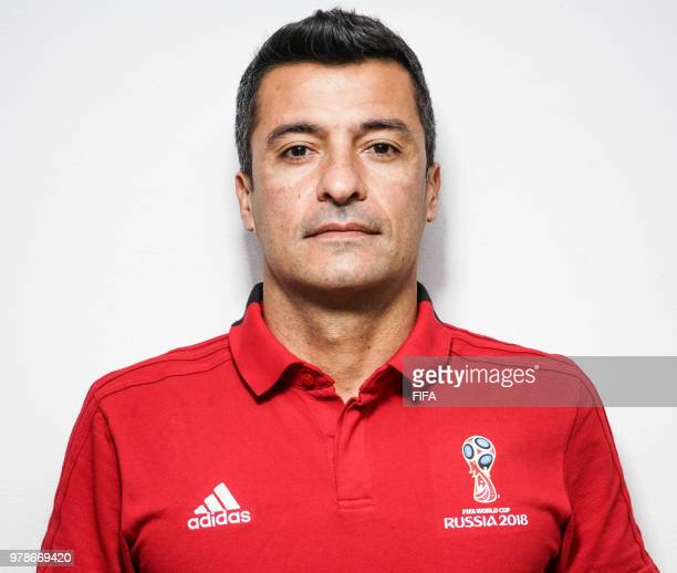 Official Portrait of Sandro Ricci from Brazil for the FIFA World Cup Russia 2018 on April 24 2018 in Russia