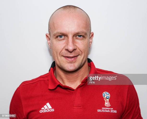 Official Portrait of Szymon Marciniak from Poland for the FIFA World Cup Russia 2018 on April 19 2018 in Russia