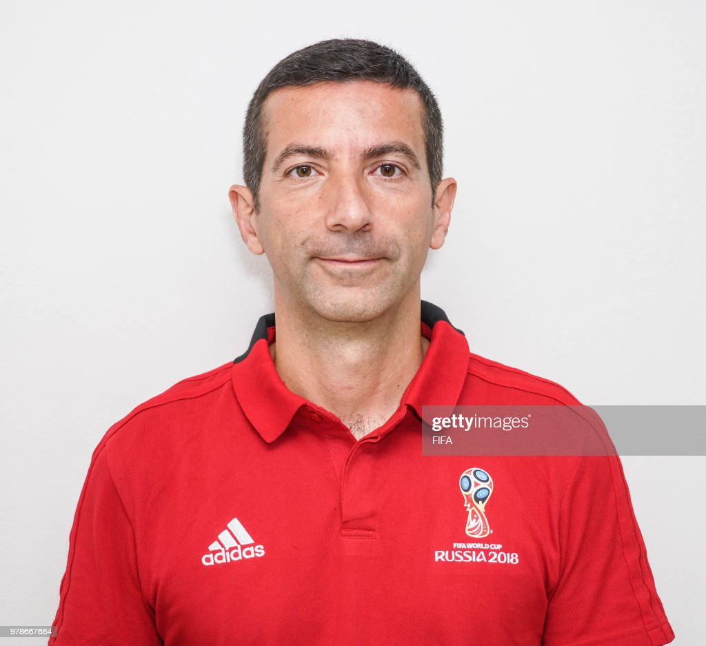 RUS: Official Portraits of Referees and Assistants - FIFA World Cup Russia 2018