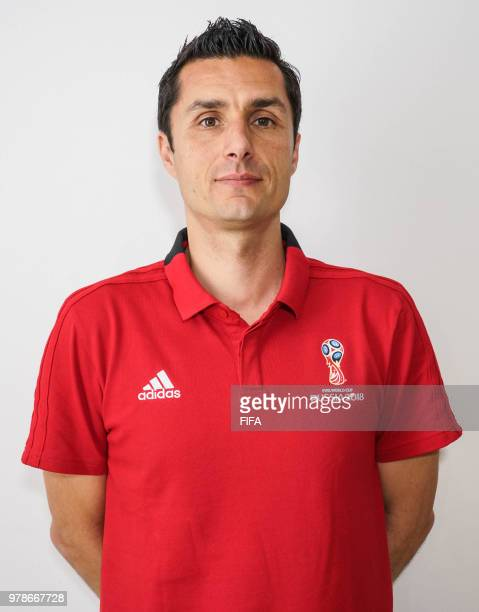 Official Portrait of Tiago Martins from Portugal for the FIFA World Cup Russia 2018 on April 19 2018 in Russia