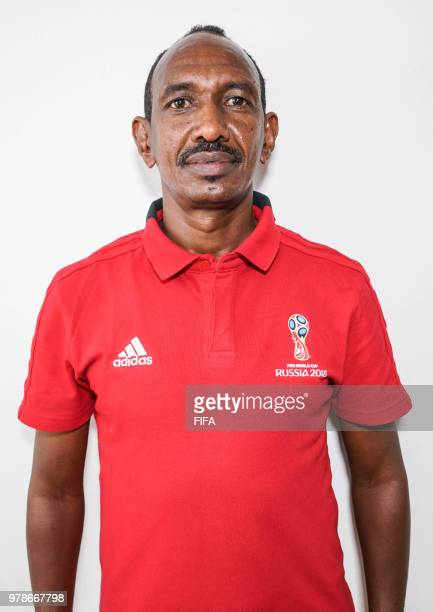 Official Portrait of Waleed Ahmed from Sudan for the FIFA World Cup Russia 2018 on April 19 2018 in Russia