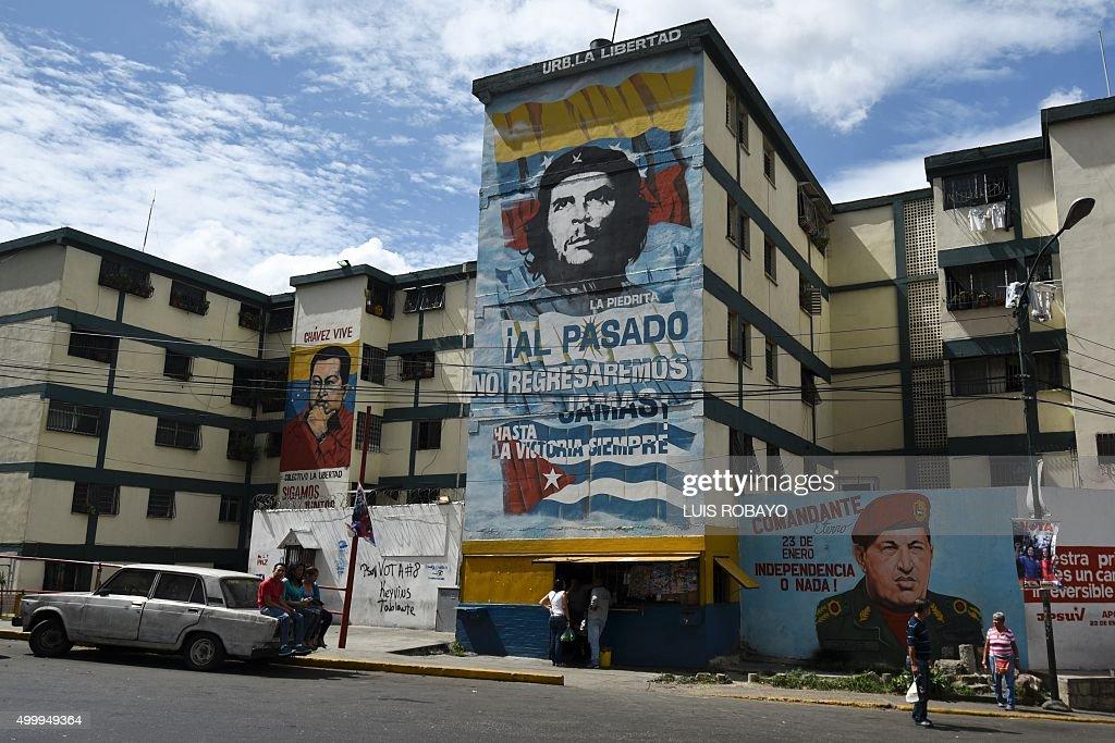 VENEZUELA-POLITICS-ELECTION : News Photo
