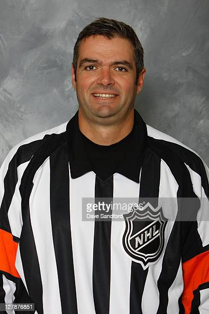 Official Stephane Auger poses for his official headshot for the 20112012 season on September 14 2011 in Thornbury Ontario Canada