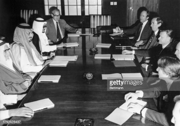 Official talks between Saudi Arabia headed by Saudi Foreign Minister Prince saud Al-Faysal and the United States, headed by National Security Advisor...
