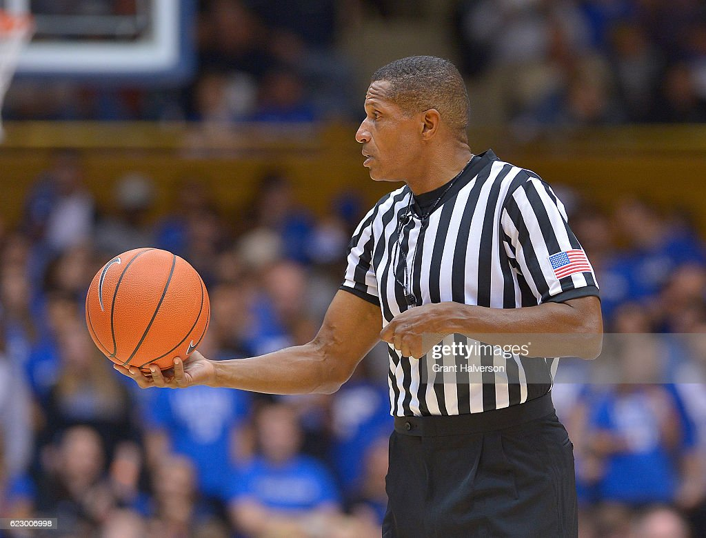 Official Ted Valentine During The Game Between The Duke Blue Devils And The  Grand Canyon Antelopes