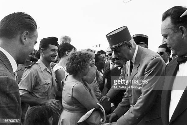 Official Travel Of Charles De Gaulle In Djibouti And Madagascar In July 1959 4 juillet 1959 à Djibouti le président de la République française...