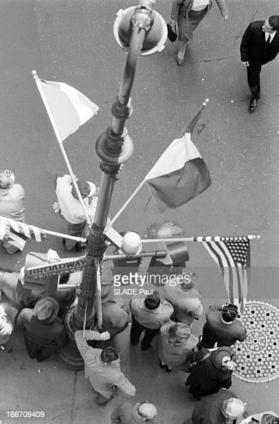 Official Travel Of General De Gaulle To The United States New York En avril 1960 à l'occasion d'un voyage officiel aux Etats Unis du président de la...