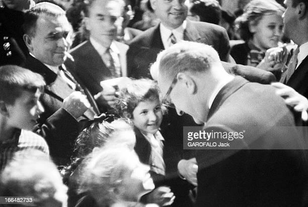 Official Travel Of Guy Mollet In The Ussr In May 1956 Visite officielle de Guy MOLLET président du Conseil français en URSS en mai 1956 Au cours d'un...