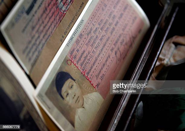 Official US Labor Department document which belonged to detainee Jiu Row on display in dormitory After being closed for 5 years of renovation the...