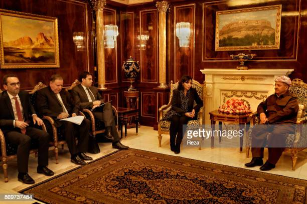 Official visit of Anne Hidalgo Mayor of Paris to Iraqi Kurdistan to show the solidarity of the city of Paris with the displaced persons and refugees...