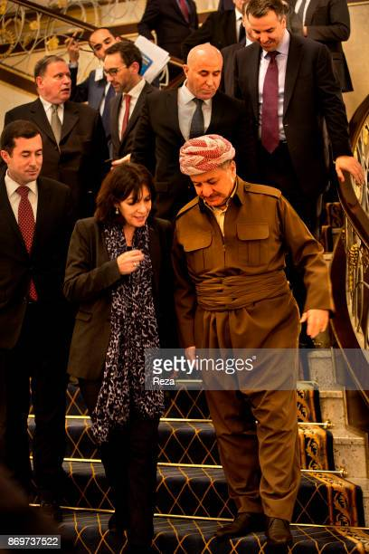 Official visit of Anne Hidalgo, Mayor of Paris, to Iraqi Kurdistan, to show the solidarity of the city of Paris with the displaced persons and...