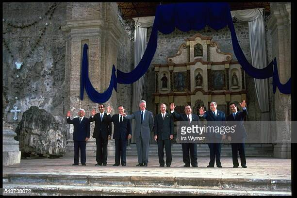 Official Visit of Bill Clinton in Guatemala